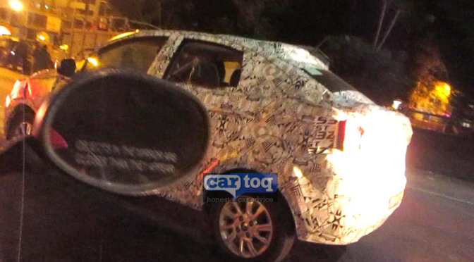 2015 Tata Kite Compact Sedan spy pics