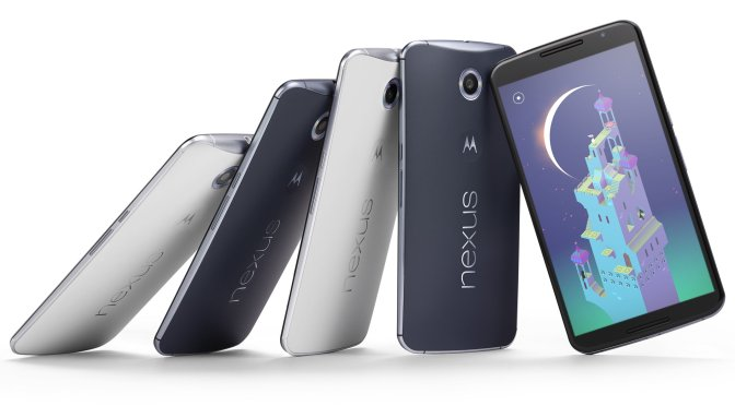 Google Nexus 6 Smart phone