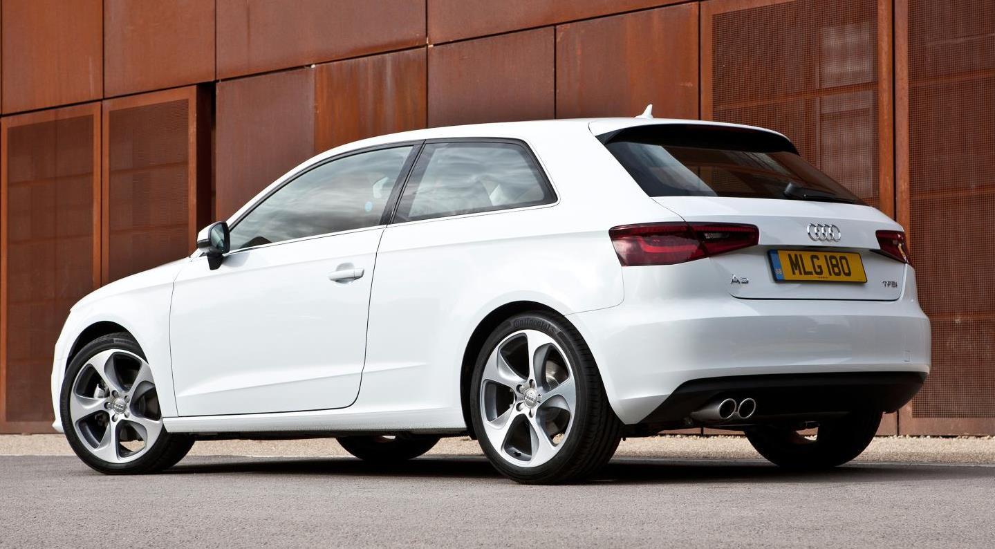 Audi A3 compact luxury sedan