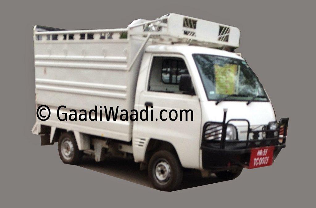 Maruti Suzuki LCV (Y9T) spy pic