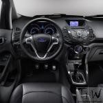 Ford EcoSport updated interiors