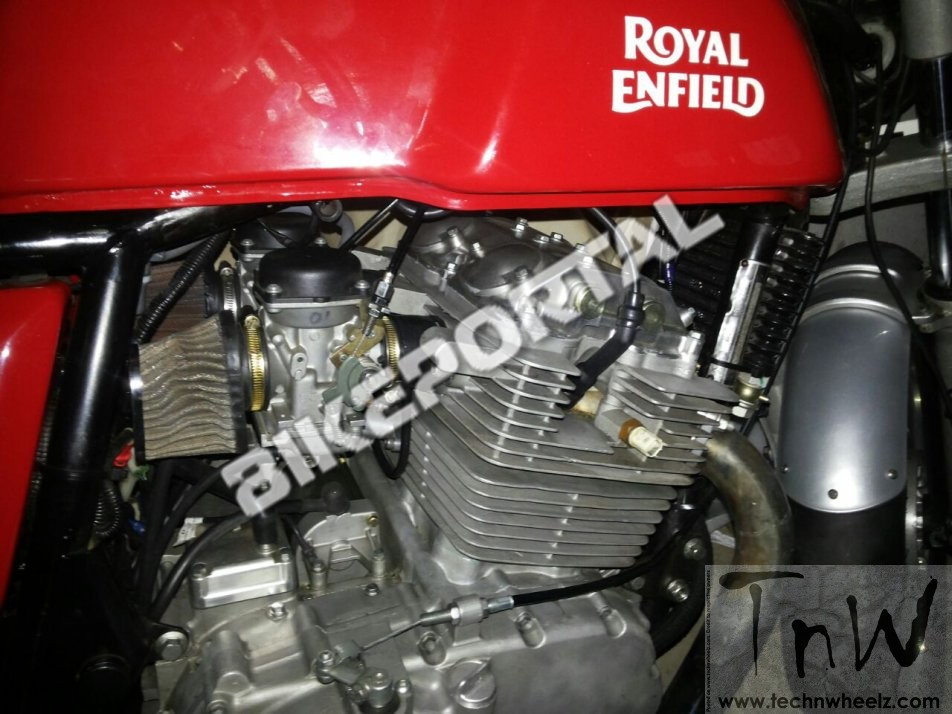 Royal Enfield 750cc Parallel-Twin Engine