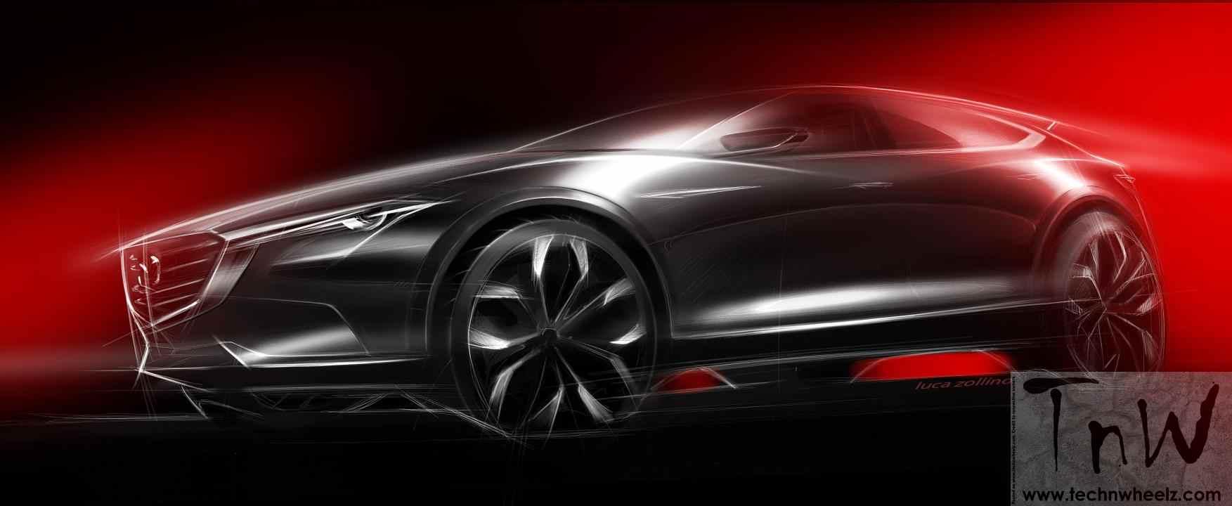 Mazda Koeru crossover SUV concept