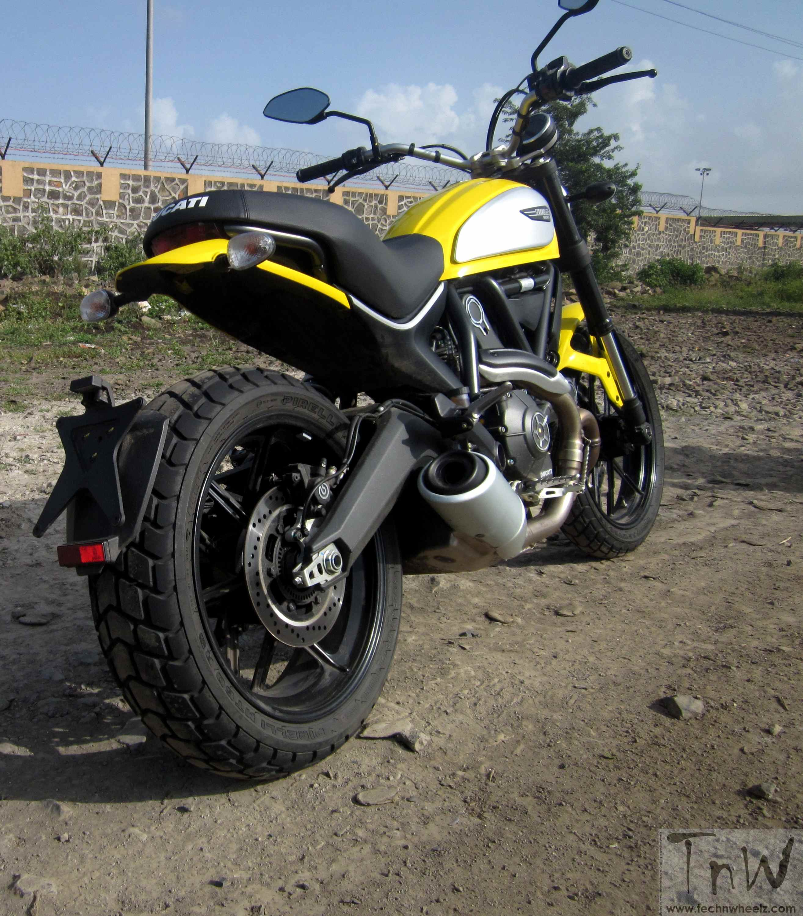 scrambler was introduced at the 2014 intermot motorcycle show the new