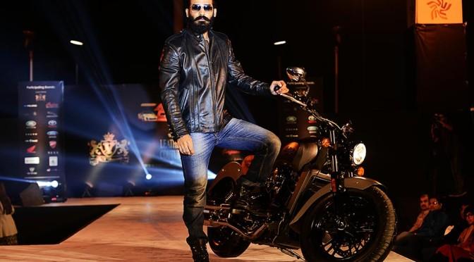 Indian Motorcyle Company & V Renaissance organizes fashion show- VROOMss