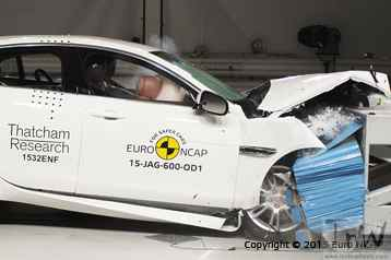 ... Jaguar XE and XF achieve 5-star euro NCAP safety rating. Videos inside