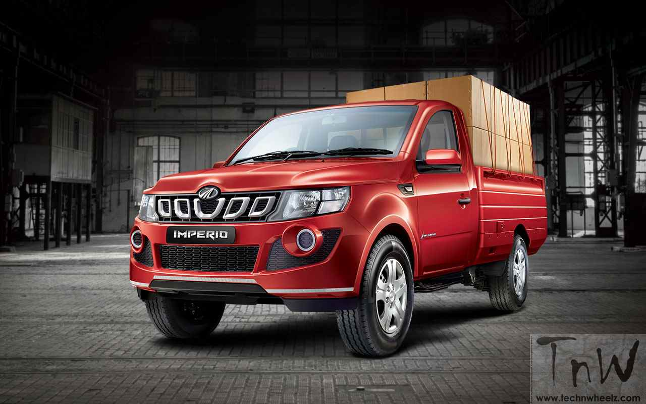 Mahindra launches Imperio pickup. Details inside