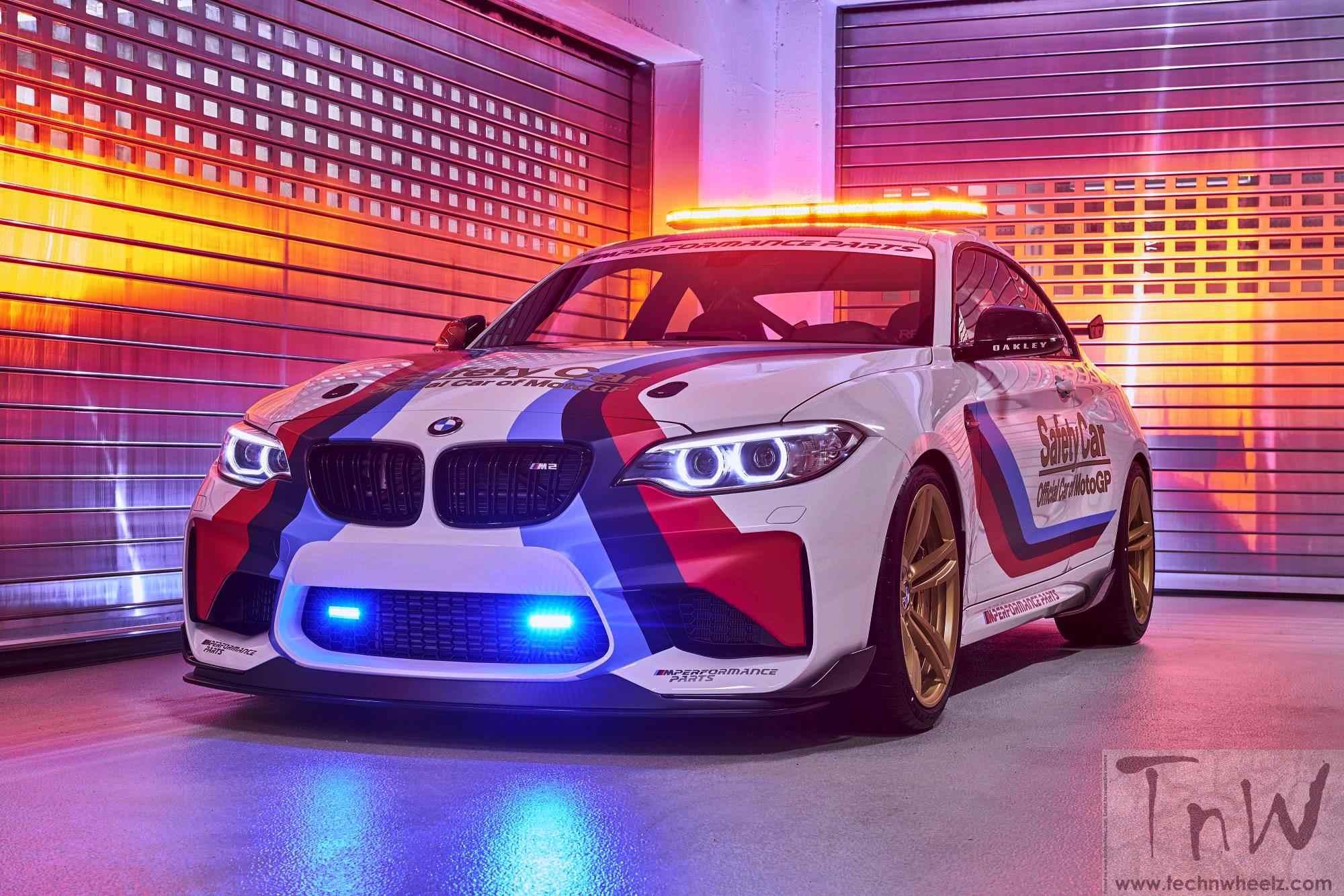 BMW M2 MotoGP Safety Car for 2016 season revealed