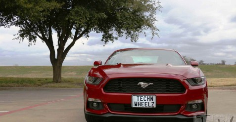 Ford Mustang V8 Fastback review. A car to impress anyone