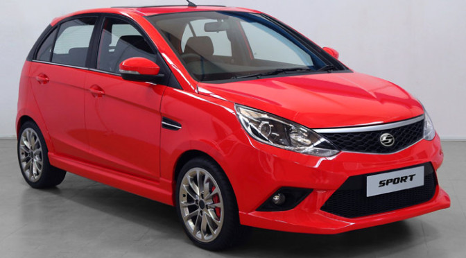 Tata Bolt Sport with remapped ECU and stylized body kit