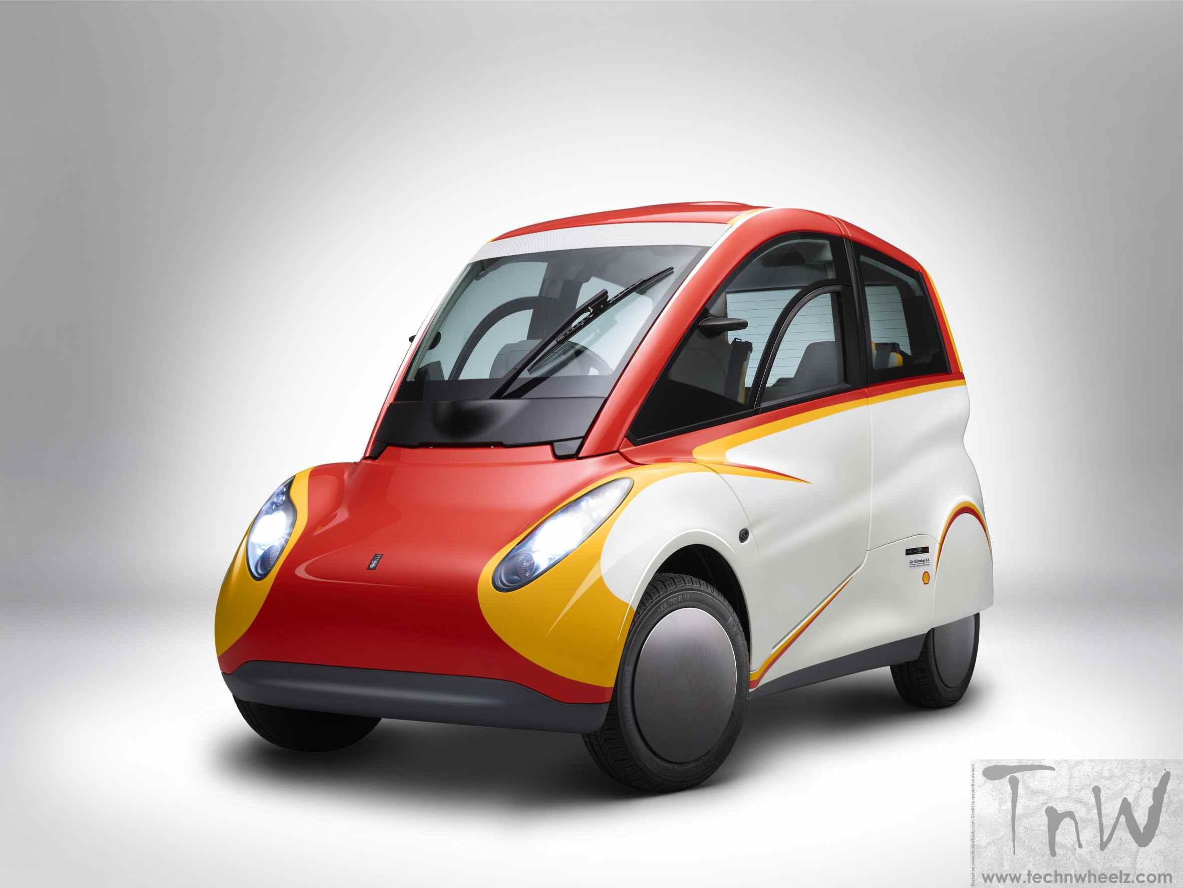 Shell unveils energy efficient concept car