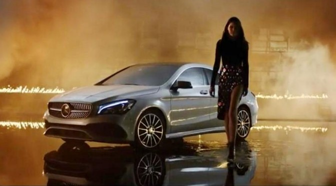 Copy of Mercedes-Benz fashion film Burning Desire with rebellious CLA (3)