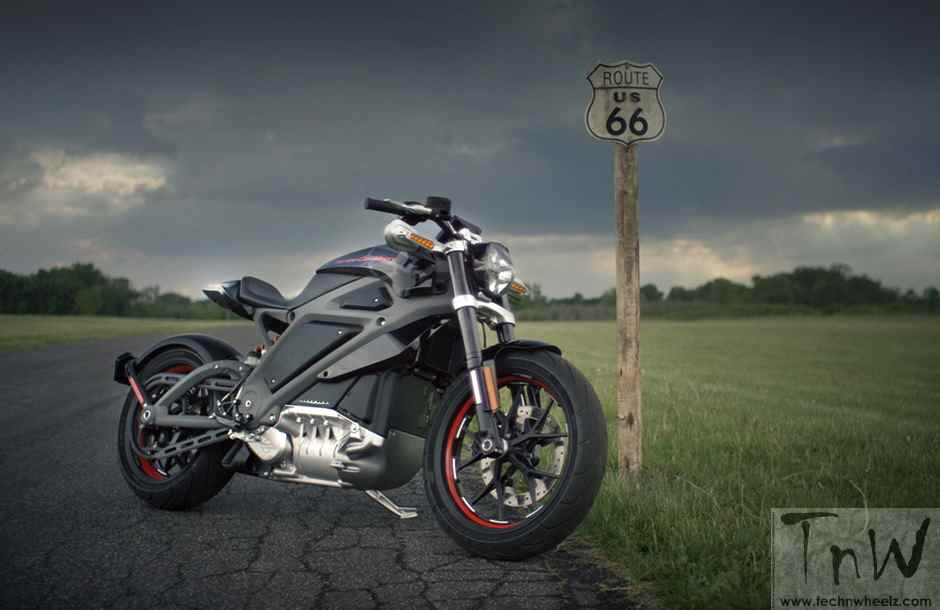 An electric Harley-Davidson in works !!