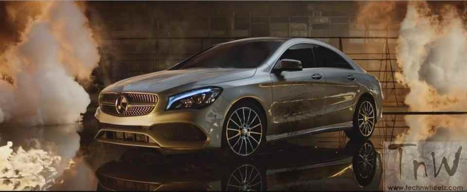 Mercedes-Benz fashion film Burning Desire with rebellious CLA (1)