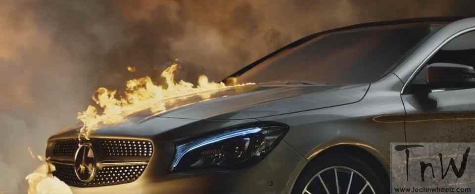 Mercedes-Benz fashion film Burning Desire with rebellious CLA (2)