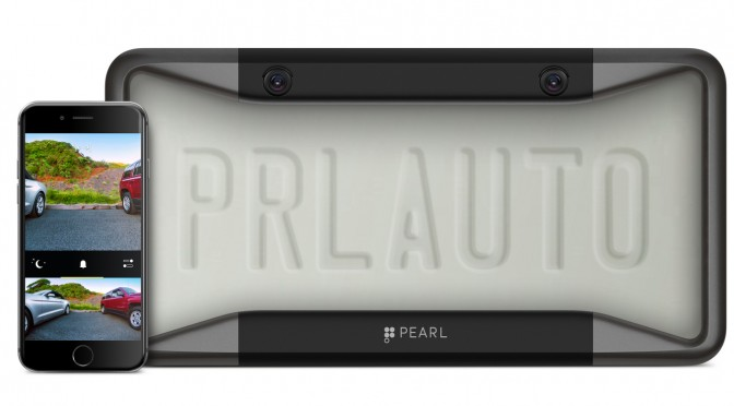 Pearl RearVision car rear view camera by ex-Apple engineers
