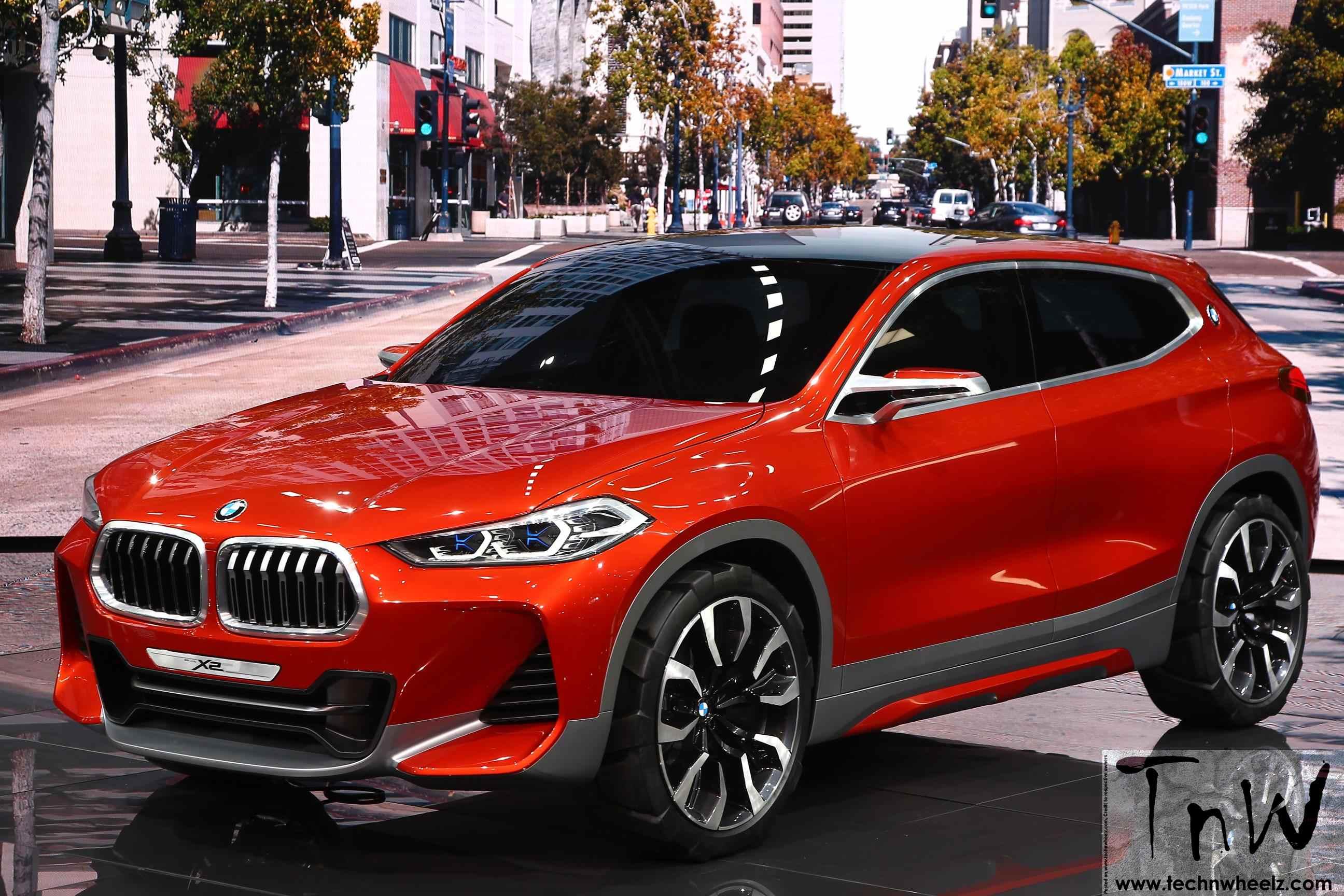Paris Motor Show: BMW Concept X2 debuts. Breaks design code