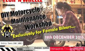 Female Bikers Xclusive DIY Motorcycle Workshop