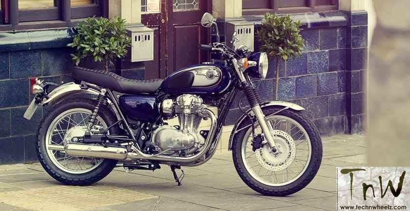 Japanese to take on the British with Kawasaki W800 retro motorcycle in India