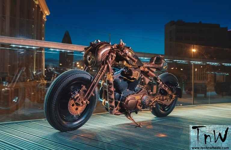 GOC customizes Harley-Davidson Sportster for Krakow Hard Rock Cafe