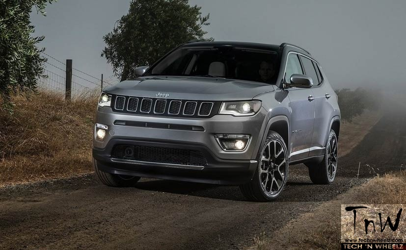 Jeep Compass bookings open. Launch expected on June 17, 2017
