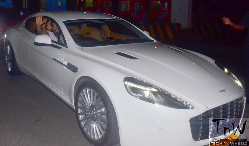 Ranveer Singh turns 32. Gifts himself an Aston Martin Rapide S