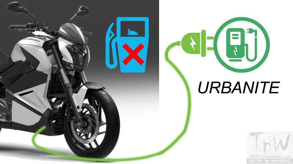 Bajaj Urbanite will be Tesla in the two-wheeler space