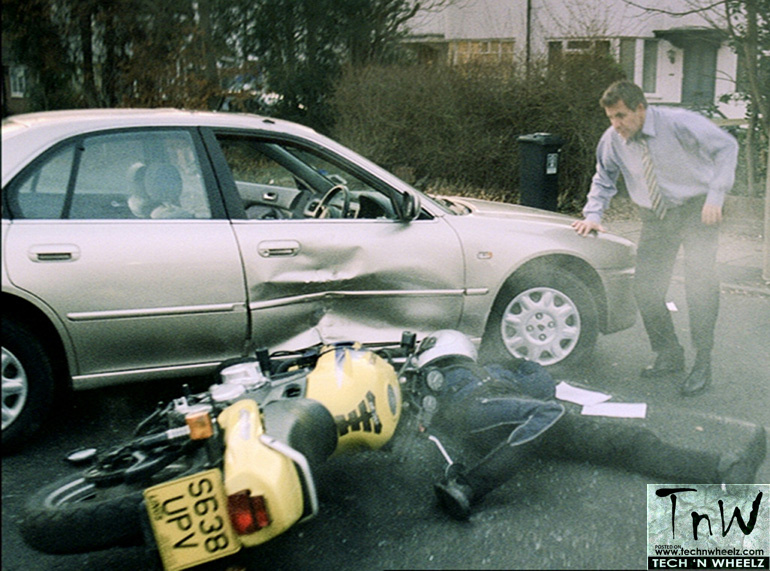 You're 'first on scene' to a motorcycle accident? Things to do