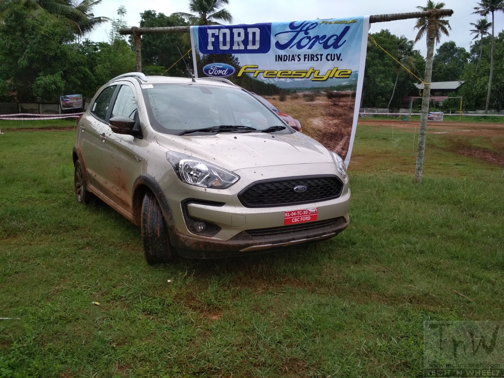 Ford Freestyle goes off-road at CBC Ford Fest in Mavelikkara, Kerala