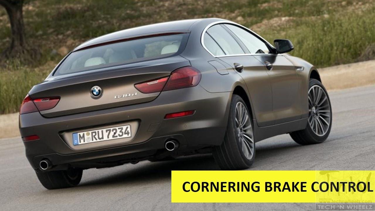 Cornering Brake Control (CBC) explained