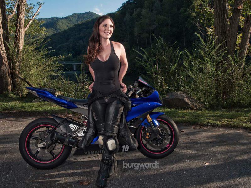 Women Motorcycle Diaries: Sarah Merrell- biker, model and actress